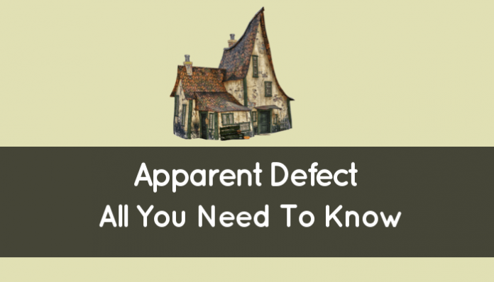 Apparent Defect (Legal Definition: All You Need To Know)